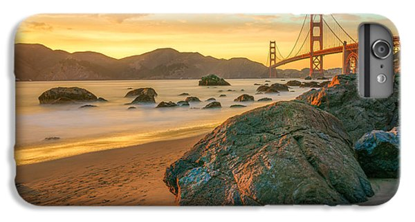 Golden Gate Sunset IPhone 7 Plus Case by James Udall