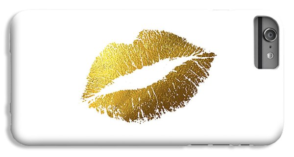 Gold Lips IPhone 7 Plus Case by Bekare Creative