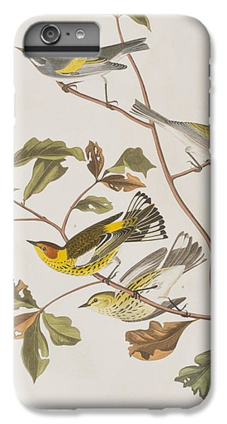 Golden Winged Warbler Or Cape May Warbler IPhone 7 Plus Case by John James Audubon