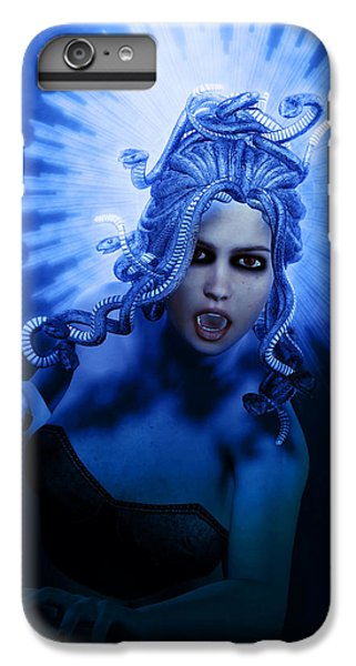 Gorgon Blue IPhone 7 Plus Case by Joaquin Abella