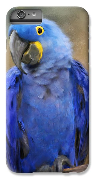 Hyacinth Macaw  IPhone 7 Plus Case by Jai Johnson