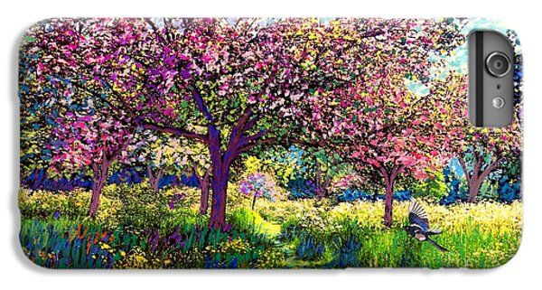 In Love With Spring, Blossom Trees IPhone 7 Plus Case by Jane Small