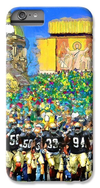 Irish Run To Victory IPhone 7 Plus Case by John Farr