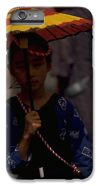 IPhone 7 Plus Case featuring the photograph Japanese Girl by Travel Pics