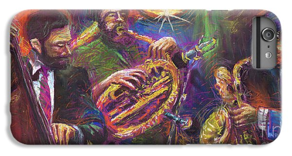 Jazz Jazzband Trio IPhone 7 Plus Case by Yuriy  Shevchuk