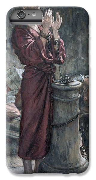 Jesus In Prison IPhone 7 Plus Case by Tissot