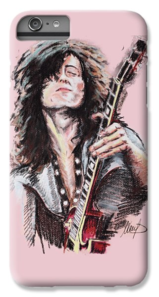Jimmy Page IPhone 7 Plus Case by Melanie D