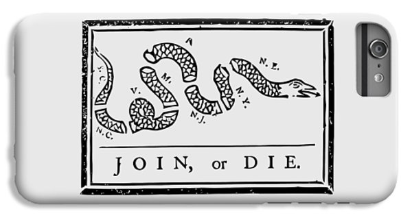 Join Or Die IPhone 7 Plus Case by War Is Hell Store
