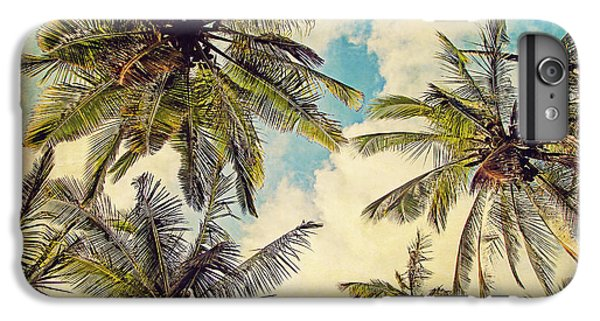 Kauai Island Palms - Blue Hawaii Photography IPhone 7 Plus Case by Melanie Alexandra Price