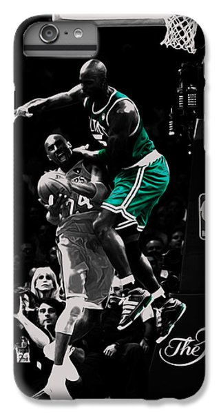 Kevin Garnett Not In Here IPhone 7 Plus Case by Brian Reaves