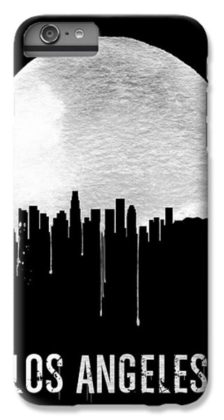 Los Angeles Skyline Black IPhone 7 Plus Case by Naxart Studio