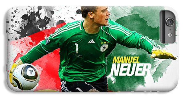 Manuel Neuer IPhone 7 Plus Case by Semih Yurdabak