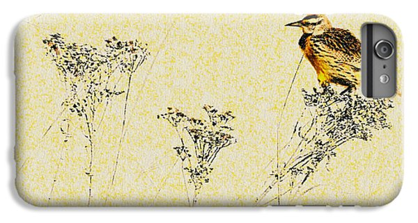 Meadowlark In Kansas Prairie 1 IPhone 7 Plus Case by Anna Louise