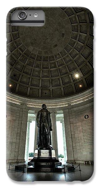 Memorial To Thomas Jefferson IPhone 7 Plus Case by Andrew Soundarajan