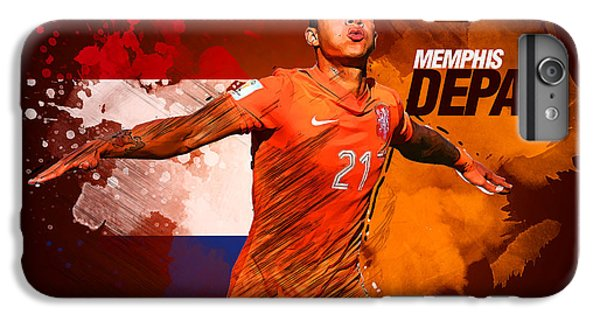 Memphis Depay IPhone 7 Plus Case by Semih Yurdabak