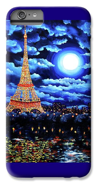 Midnight In Paris IPhone 7 Plus Case by Laura Iverson