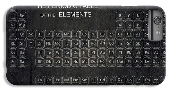 Minimalist Periodic Table IPhone 7 Plus Case by Daniel Hagerman