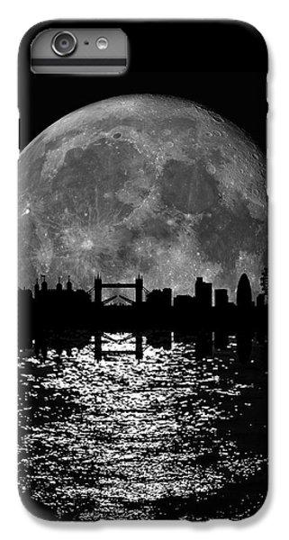 Moonlight London Skyline IPhone 7 Plus Case by Mark Rogan