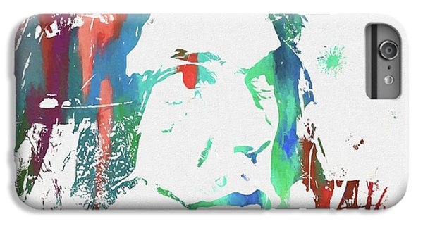 Neil Young Paint Splatter IPhone 7 Plus Case by Dan Sproul