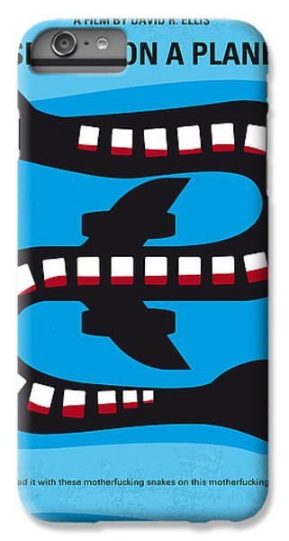 No501 My Snakes On A Plane Minimal Movie Poster IPhone 7 Plus Case by Chungkong Art