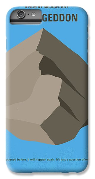 No695 My Armageddon Minimal Movie Poster IPhone 7 Plus Case by Chungkong Art