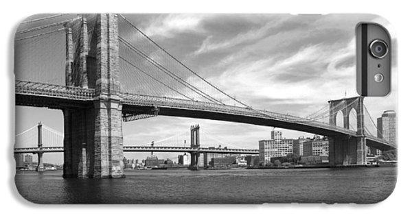 Nyc Brooklyn Bridge IPhone 7 Plus Case by Mike McGlothlen
