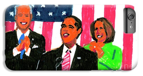 Obama's State Of The Union '10 IPhone 7 Plus Case by Candace Lovely