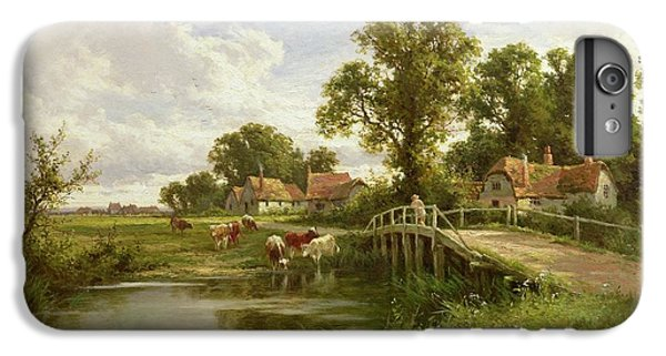 On The Thames Near Marlow IPhone 7 Plus Case by Henry Parker
