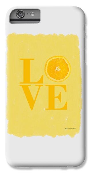 Orange IPhone 7 Plus Case by Mark Rogan
