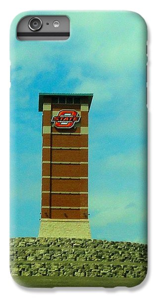 Oklahoma State University Gateway To Osu Tulsa Campus IPhone 7 Plus Case by Janette Boyd