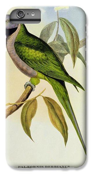 Parakeet IPhone 7 Plus Case by John Gould