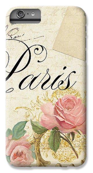 Parchment Paris - Timeless Romance IPhone 7 Plus Case by Audrey Jeanne Roberts