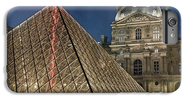 Paris Louvre IPhone 7 Plus Case by Juli Scalzi