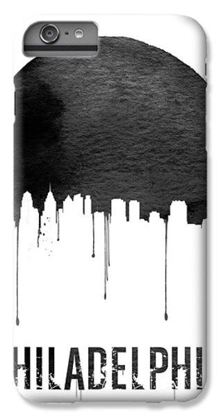 Philadelphia Skyline White IPhone 7 Plus Case by Naxart Studio