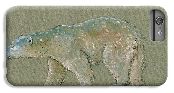Polar Bear Original Watercolor Painting Art IPhone 7 Plus Case by Juan  Bosco