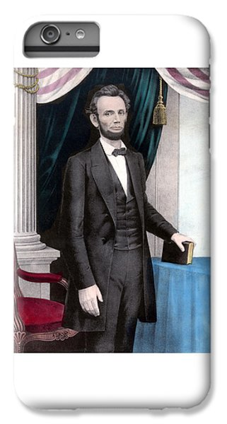 President Abraham Lincoln In Color IPhone 7 Plus Case by War Is Hell Store