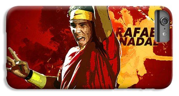 Rafael Nadal IPhone 7 Plus Case by Semih Yurdabak