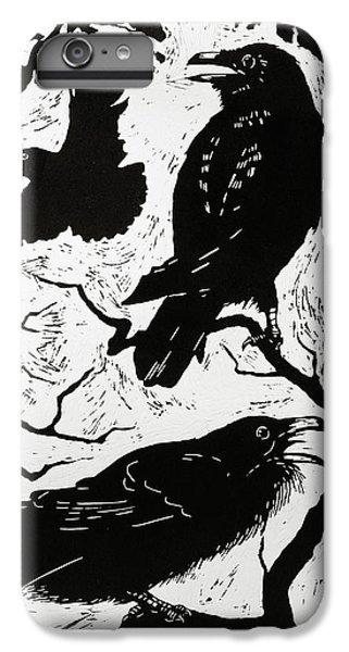 Ravens IPhone 7 Plus Case by Nat Morley