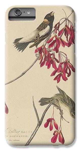Rice Bunting IPhone 7 Plus Case by John James Audubon