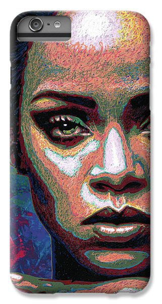 Rihanna IPhone 7 Plus Case by Maria Arango