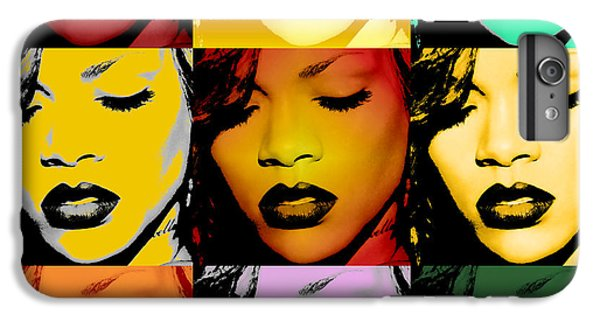 Rihanna Warhol By Gbs IPhone 7 Plus Case by Anibal Diaz