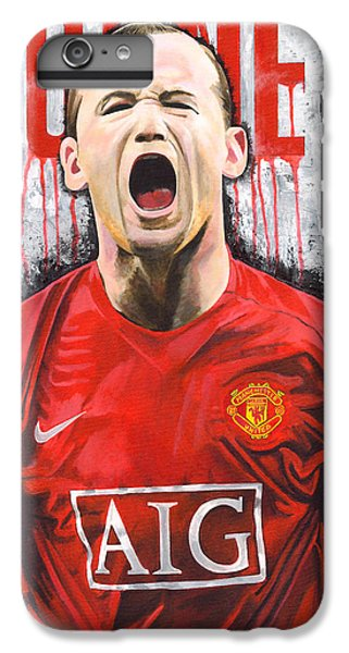 Rooney IPhone 7 Plus Case by Jeff Gomez