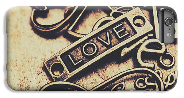 Rustic Love Icons IPhone 7 Plus Case by Jorgo Photography - Wall Art Gallery