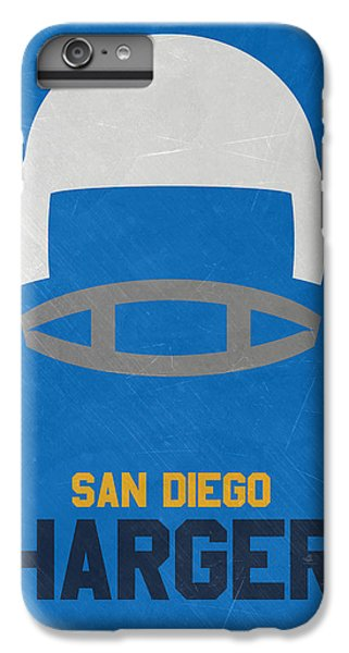 San Diego Chargers Vintage Art IPhone 7 Plus Case by Joe Hamilton