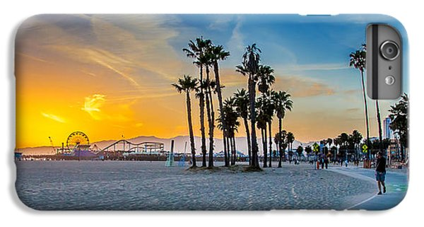 Santa Monica Sunset IPhone 7 Plus Case by Az Jackson