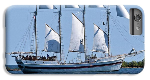 Schooner On Lake Michigan No. 1-2 IPhone 7 Plus Case by Sandy Taylor