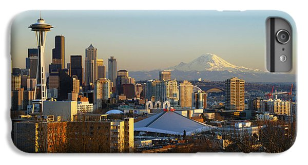 Seattle Cityscape IPhone 7 Plus Case by Greg Vaughn - Printscapes