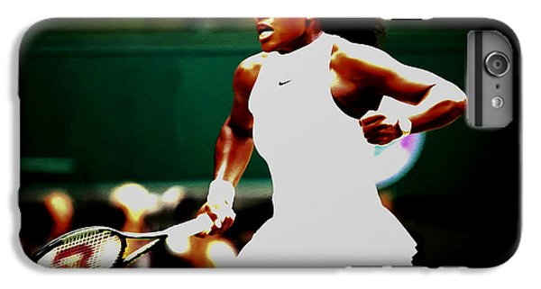 Serena Williams Making History IPhone 7 Plus Case by Brian Reaves