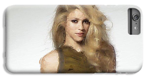 Shakira IPhone 7 Plus Case by Iguanna Espinosa