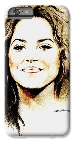 Shakira IPhone 7 Plus Case by Lin Petershagen